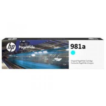 HP Tintenpatrone cyan (J3M68A, 981A)