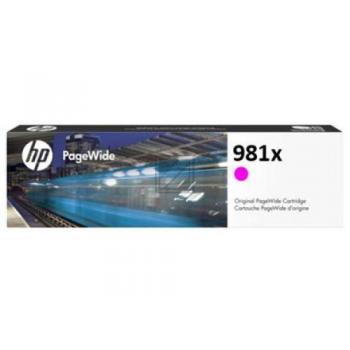 HP Tintenpatrone magenta HC (L0R10A, 981X)
