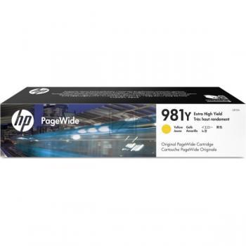 HP Tintenpatrone gelb HC plus (L0R15A, 981Y)