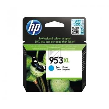 Tinte f. HP Officejet Pro 8210/8710/8720/8730/8740 [F6U16A] HC Nr.953XL cyan