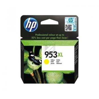 Tinte f. HP Officejet Pro 8210/8710/8720/8730/8740 [F6U18A] HC Nr.953XL yellow