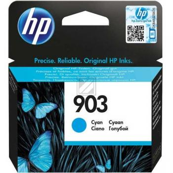 HP Tintenpatrone cyan (T6L87AE, 903)