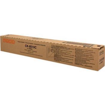 ORIGINAL Utax Toner cyan 662511011 CK-8510C ~12000 Seiten Copy Kit