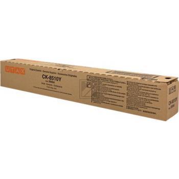 ORIGINAL Utax Toner gelb CK-8510Y 662511016 ~12000 Seiten Copy Kit