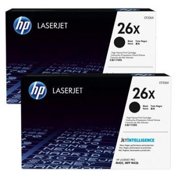 HP Toner-Kartusche JetIntelligence 2x schwarz HC (CF226XD, 26XD)