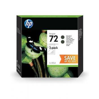 HP Tintenpatrone 2 x schwarz matt HC (P2V33A, 2 x 72)