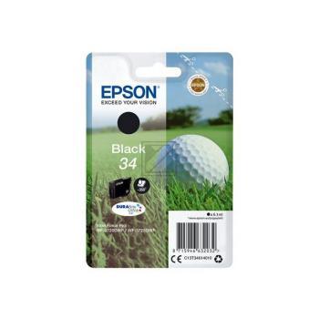 Epson Tintenpatrone Golf Ball schwarz (C13T34614010, T3461)