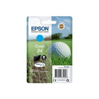 Epson Tintenpatrone Golf Ball cyan (C13T34624010, T3462)