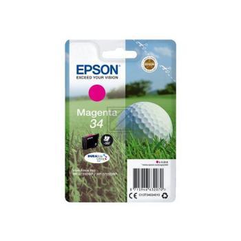 Epson Tintenpatrone Golf Ball magenta (C13T34634010, T3463)