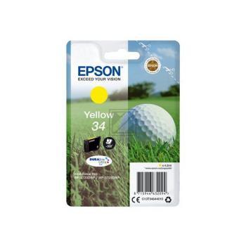 Epson Tintenpatrone Golf Ball gelb (C13T34644010, T3464)