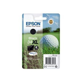 Epson Tintenpatrone Golf Ball schwarz HC (C13T34714010, T3471)