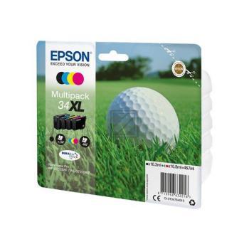 Epson Tintenpatrone Golf Ball gelb cyan magenta schwarz HC (C13T34764010, T3476)