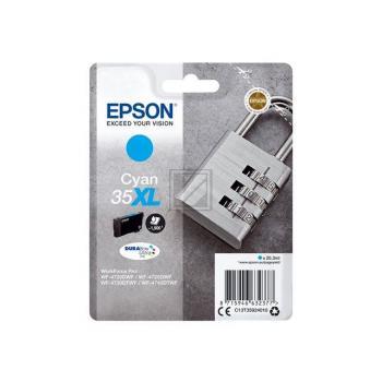 Epson Tintenpatrone cyan HC (C13T35924010, 35XL)