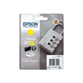 Epson Tintenpatrone gelb HC (C13T35944010, 35XL)