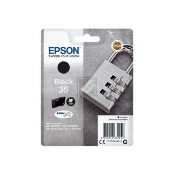 Epson Tintenpatrone schwarz (C13T35814010, 35)