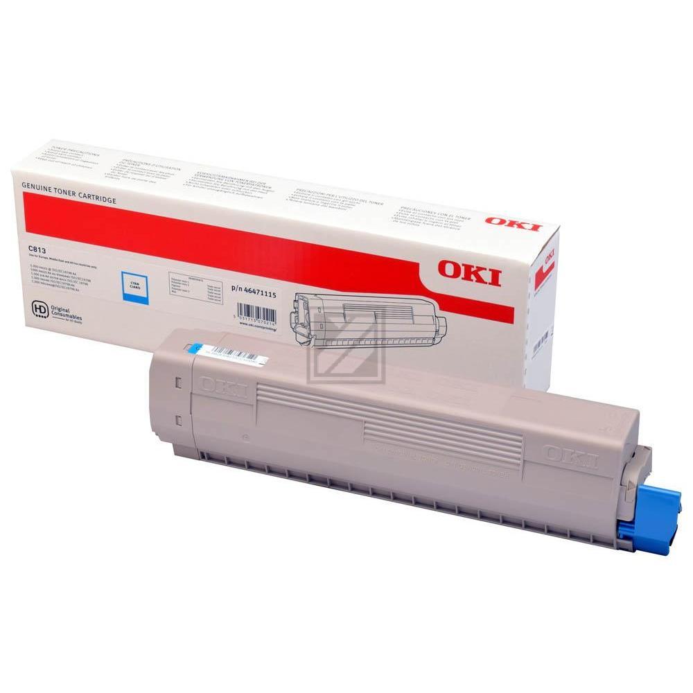 Original OKI 46471115 Toner Cyan (Original)