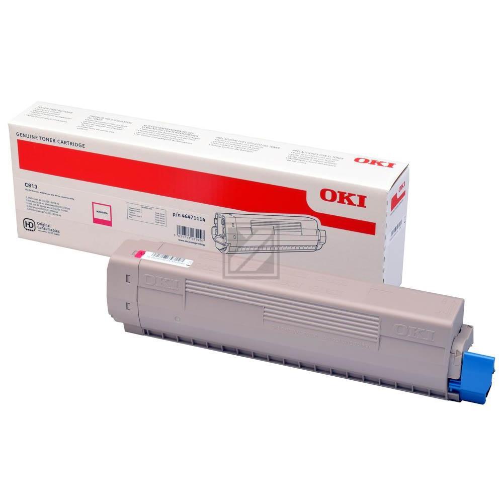 Original OKI 46471114 Toner Magenta (Original)