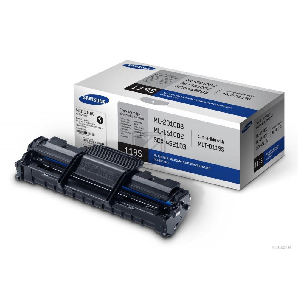 Original Samsung MLT-D119S/ELS / 119 Toner Schwarz (HP SU863A)