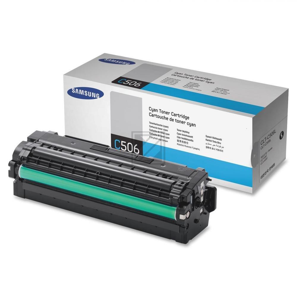 Samsung Toner-Kit cyan HC (SU038A, C506L)