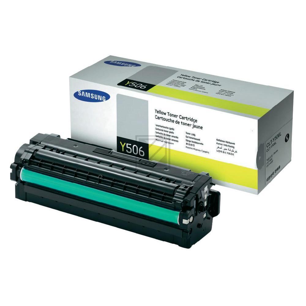 Samsung Toner-Kit gelb HC (SU515A, Y506L)