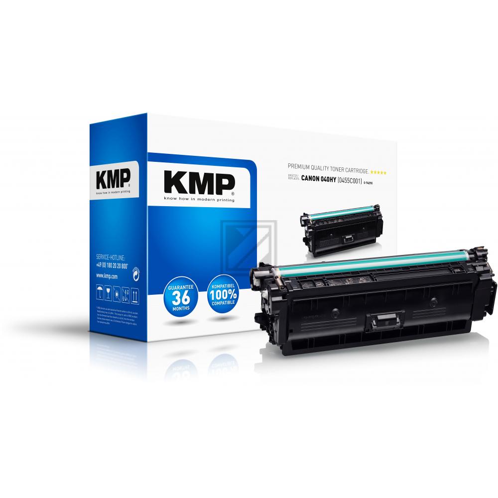 KMP Toner-Kartusche gelb (3608,3009, C-T42YX)
