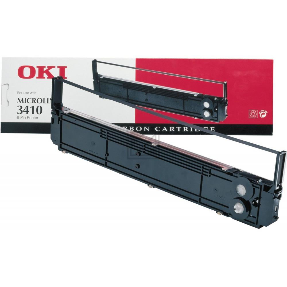 OKI ML3410 NYLON SCHWARZ #09002308, Kapazität: 100000