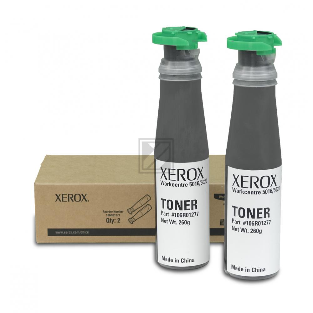 Original Xerox 106R01277 Toner Schwarz 2er Set
