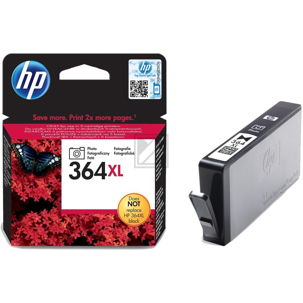 HP Tintenpatrone Photo-Tinte photo schwarz HC (CB322EE, 364XL)