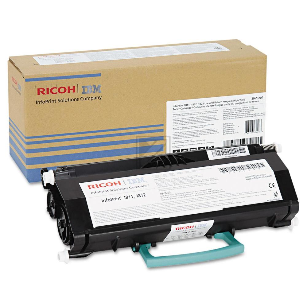 Original IBM 39V3204 Toner Black Return Program