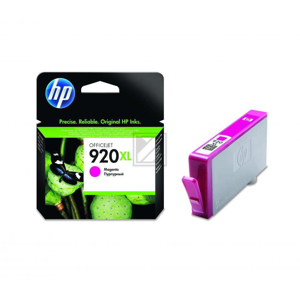 HP Tintenpatrone magenta HC (CD973AE, 920XL)