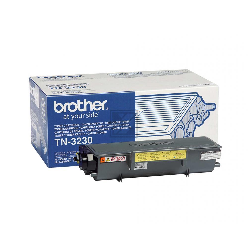 Original Brother TN-3230 Toner Schwarz