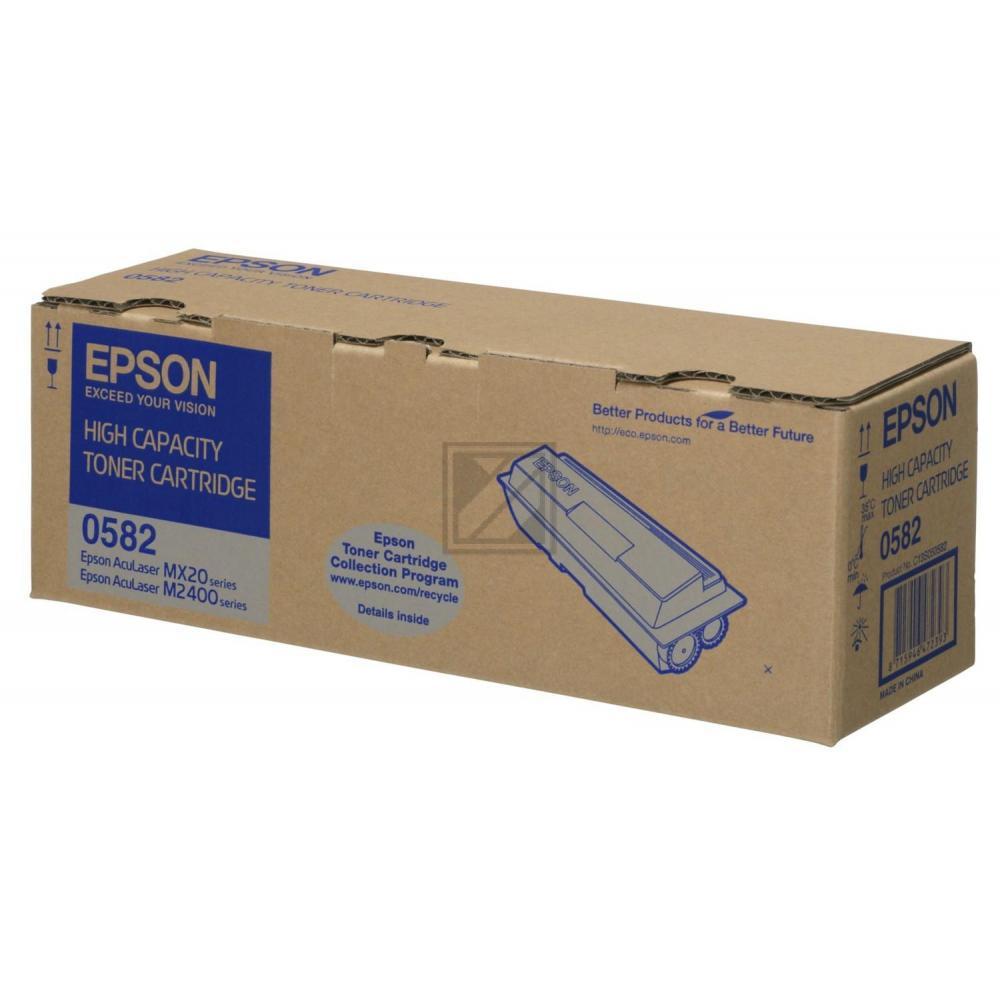 Original Epson C13S050582 / S050582 Toner Schwarz XXL