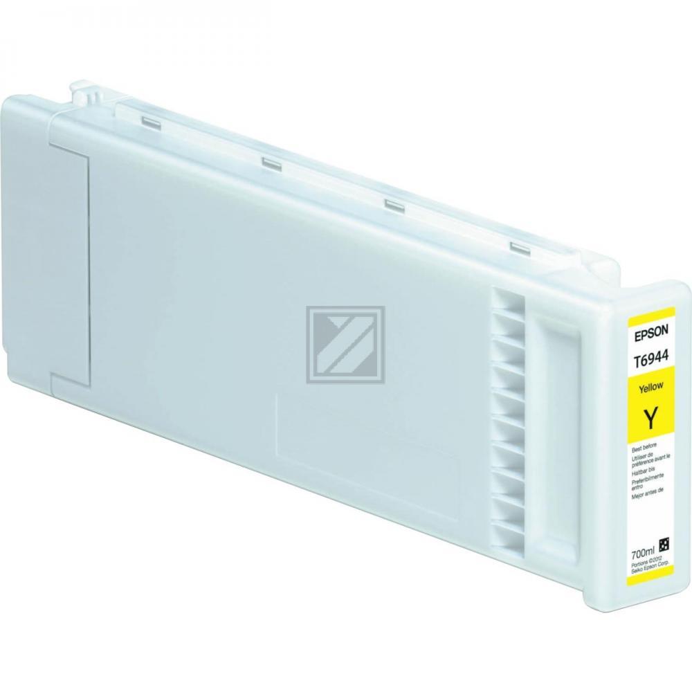 Epson Tintenpatrone Ultra Chrome XD gelb HC plus (C13T694400, T6944)