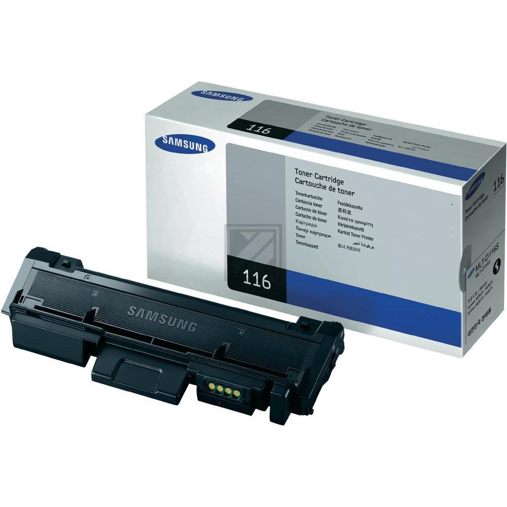 Original Samsung MLT-D116S / 116S Toner Schwarz