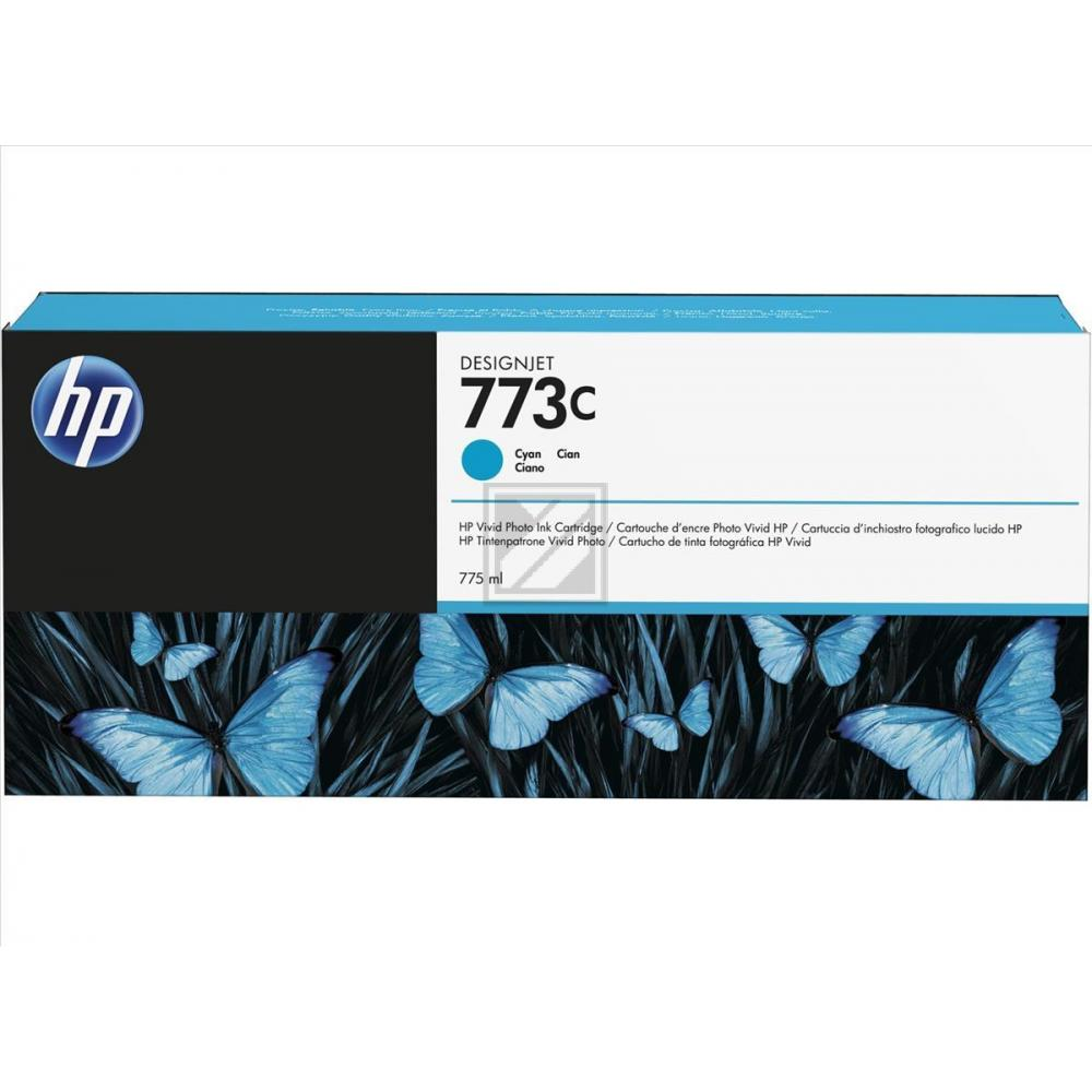 Original HP C1Q42A / 773C Tinte Cyan