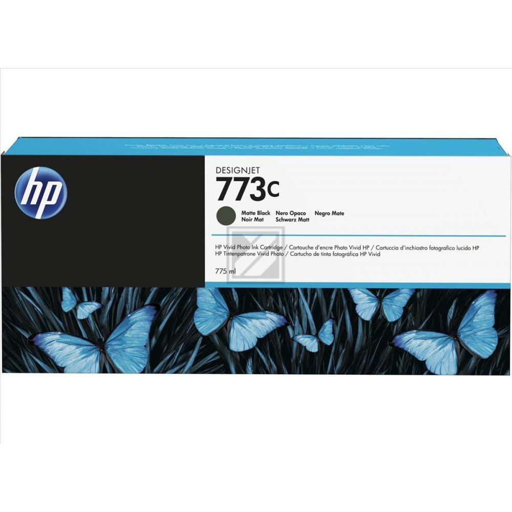 Original HP C1Q37A / 773C Tinte schwarz matt