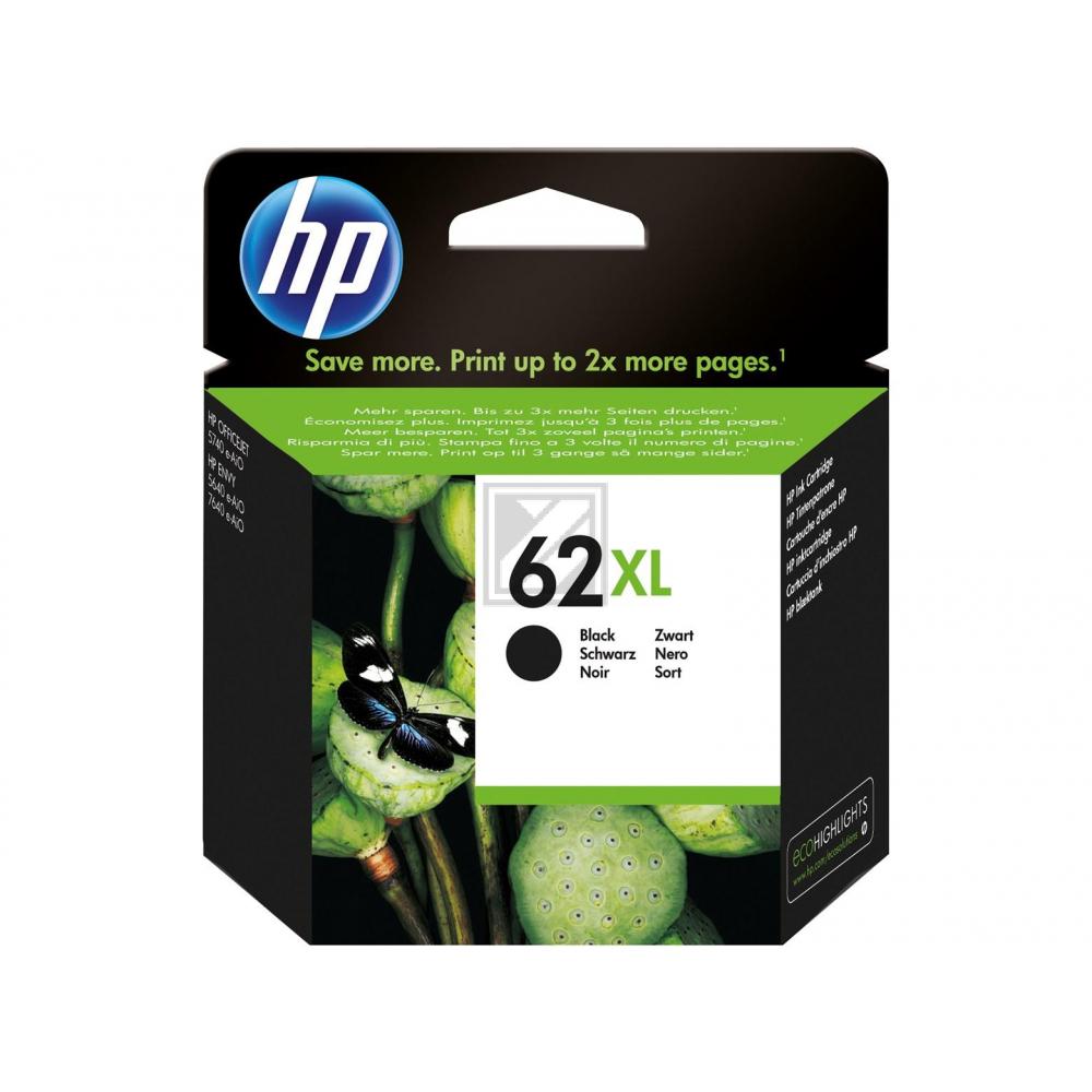 HP Tintendruckkopf schwarz HC (C2P05AE, 62XL)