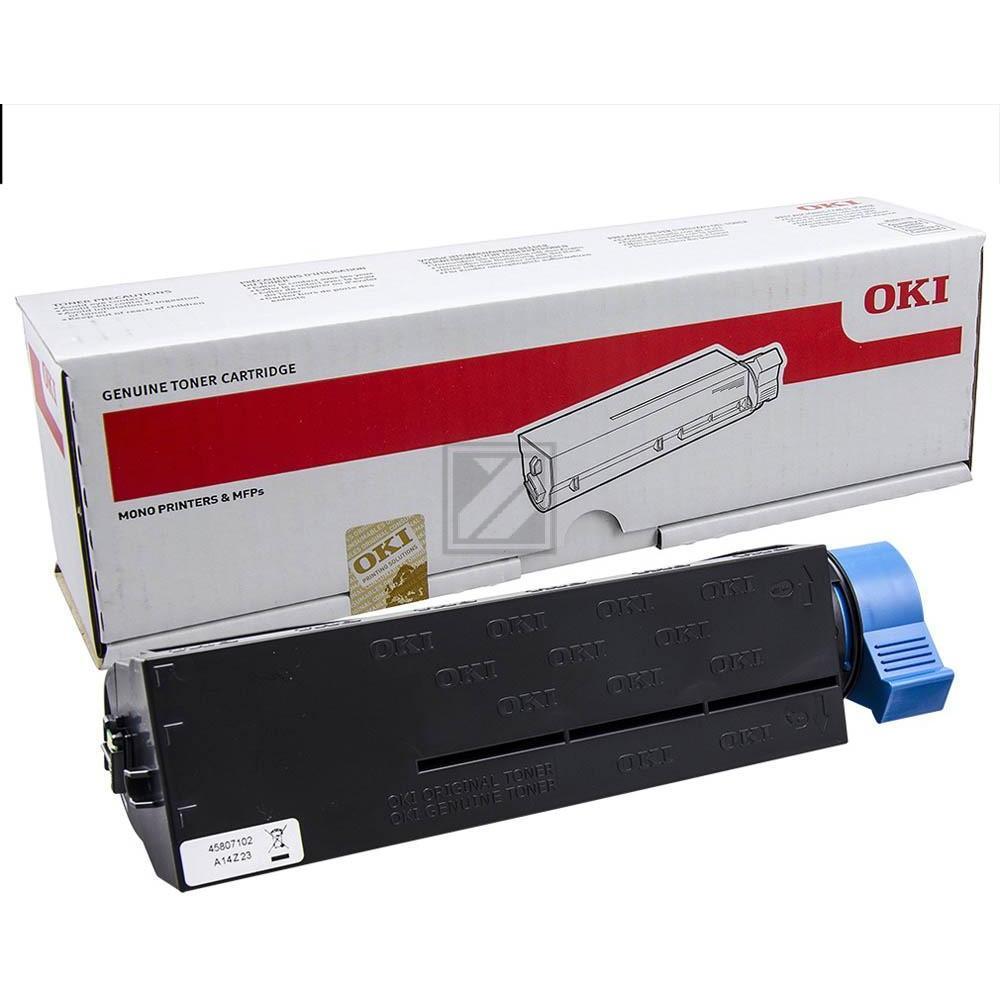 Original OKI 45807102 Toner Schwarz