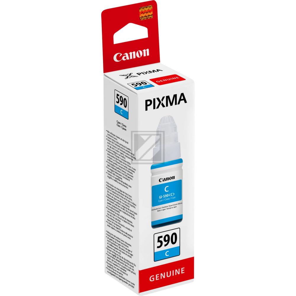 Original Canon 1604C001 / GI-590C Tinte Cyan