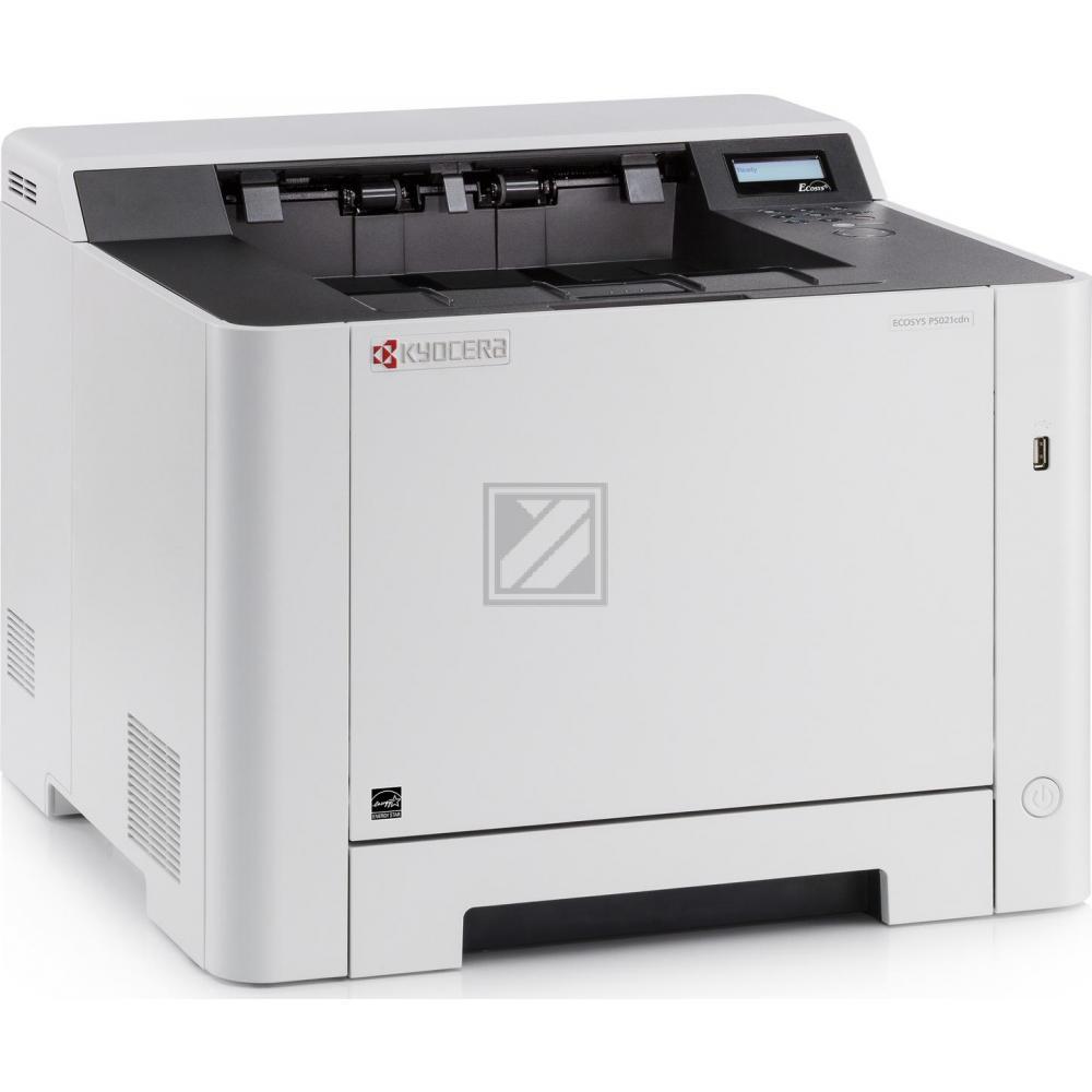 KYOCERA ECOSYS P5021cdn Farbe 9600 x 600DPI A4 Weiß