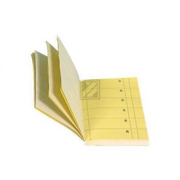 BIELLA Bonblock BONOPLAN 10.5x20cm 580300.20 gelb, 1-360 60/60 Blatt