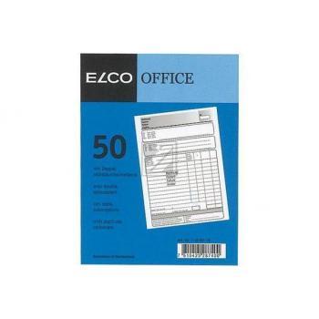 ELCO Rechnung A6 74592.19 60g 50x2 Blatt