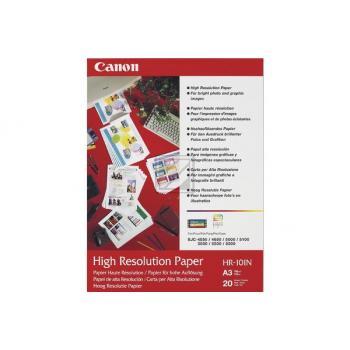 CANON     Papier High Resolution      A3 HR101NA3  InkJet 110g           20 Blatt
