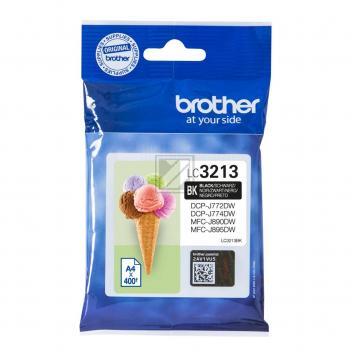 Brother Tintenpatrone schwarz HC (LC-3213BK)