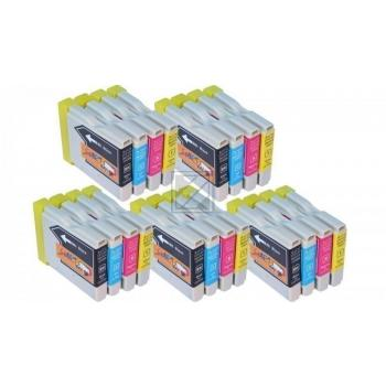 20 Compatible Ink Cartridges to Brother LC970 / LC1000  (BK, C, M, Y) (8|4|4|4)