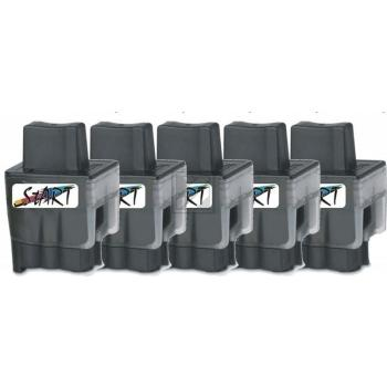 5 Compatible Ink Cartridges to Brother LC900  (BK, C, M, Y)