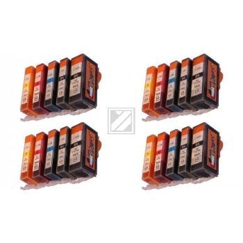 20 Ersatz CHIP Patronen kompatibel zu PGI-525 / CLI-526