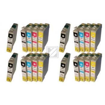 20 Compatible Ink Cartridges to Epson T1811 - T1814  (BK, C, M, Y)