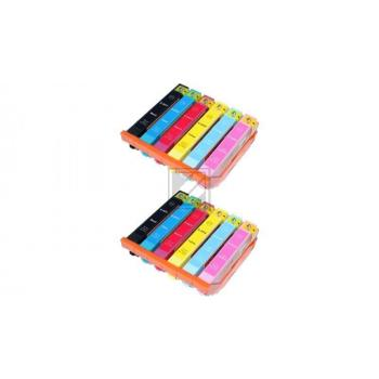 12 Compatible Ink Cartridges to Epson T2431 - T2436  (BK, C, M, Y, LC, LM)