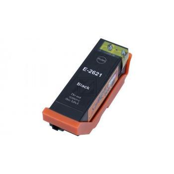 Ersatz Chip Patrone kompatibel zu Epson 26XL, T2621 Schwarz